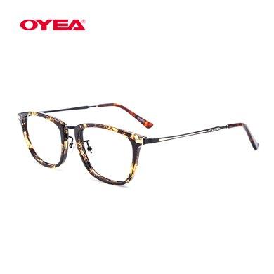 oyea歐野近視鏡女款全框近視眼鏡框架含片精致麗人M113