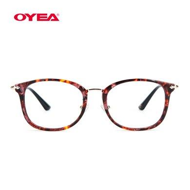OYEA歐野眼鏡17春夏新品近視鏡套餐精致女款琉彩系列MF17C014