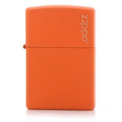ZIPPO打火机231ZL(橙哑漆商标)