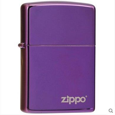 ZIPPO打火机 24747ZL 神秘紫冰商标
