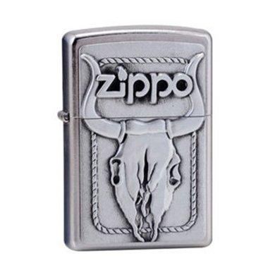 ZIPPO打火機20286(牛頭骨)