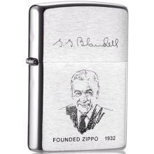 ZIPPO打火机200FL(创办人签名肖像)