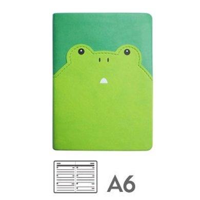 香港 Daycraft 德格夫-動物趣臉系列A6日記本效率手冊手帳(收藏版)