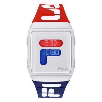 FILA斐樂明星同款手表男女情侶表學生電子表時尚潮流運動防水105