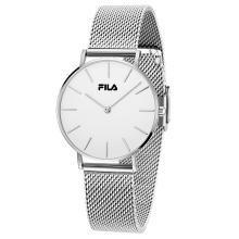 FILA斐乐手表男女士情侣表简约休闲石英表时尚编织钢带腕表dw778