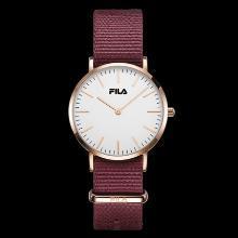 FILA斐樂手表男女情侶表簡約時尚潮流大表盤尼龍帶腕表dw778