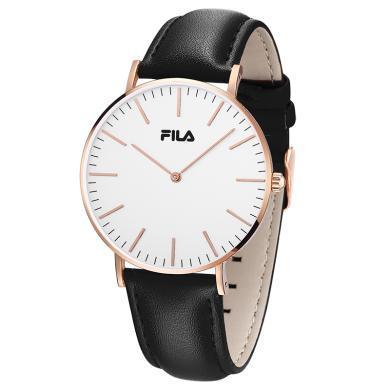 FILA斐樂手表女男士新款防水時尚潮流官方正品情侶皮腕表dw778