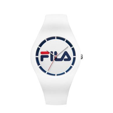 FILA斐乐手表男表女表情侣表学生硅胶石表时尚运动手表671