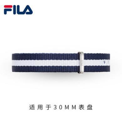 FILA斐樂尼龍表帶 778 633 三色 五色針扣表帶 15mm 20mm