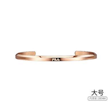 FILA斐樂手表配飾簡約金色銀色飾品手鐲男女手環