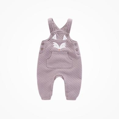 丑丑嬰幼 女童褲子秋冬新款女寶寶背帶褲6個月-2歲 CME035X