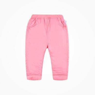 丑丑嬰幼 女童冬季新款長褲女寶寶純色保暖褲子兒童公主棉長褲1-5歲 CME066W