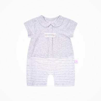 丑丑嬰幼 夏季新款男寶寶前開哈衣、爬服、連衣衣3個月-1歲半 CLE009X