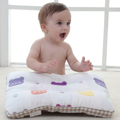 【活动价39元】妈唯乐 Marvelous kids 新疆长绒纯棉宝宝儿童枕头纱布枕头30x50cm