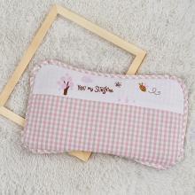 苎麻枕头呵宝儿童定型枕头新生儿夏季?#38041;?#21487;拆洗幼儿园宝宝枕头