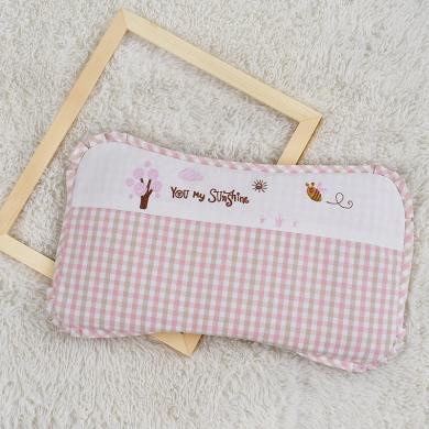 苎麻枕头呵宝儿童定型枕头新生儿夏季透气可拆洗幼儿园宝宝枕头