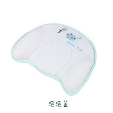 呵寶嬰兒定型枕寶寶新生幼兒童多功能記憶棉枕頭0-1歲睡覺枕頭夏